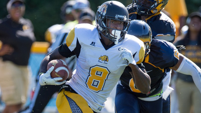 Bowie State WR Nyme Manns